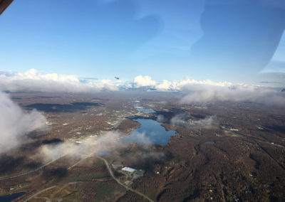 Over the City Wasilla in the 233, Last flight of the Season